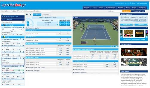 sportingbet live betting tennis