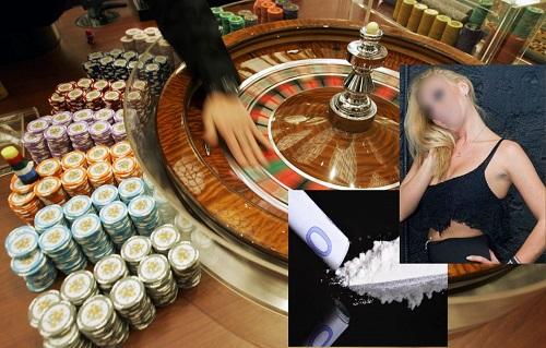 πορνεια εμποριο λευκης σαρκος ναρκωτικα παρανομος τζογος