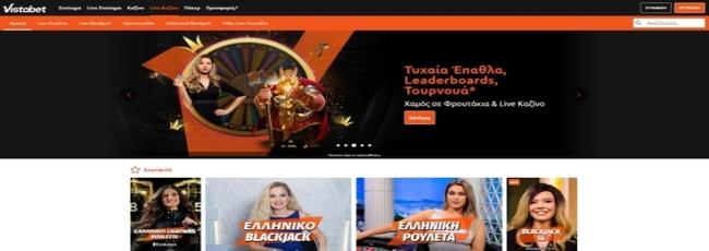 Vistabet Casino Live